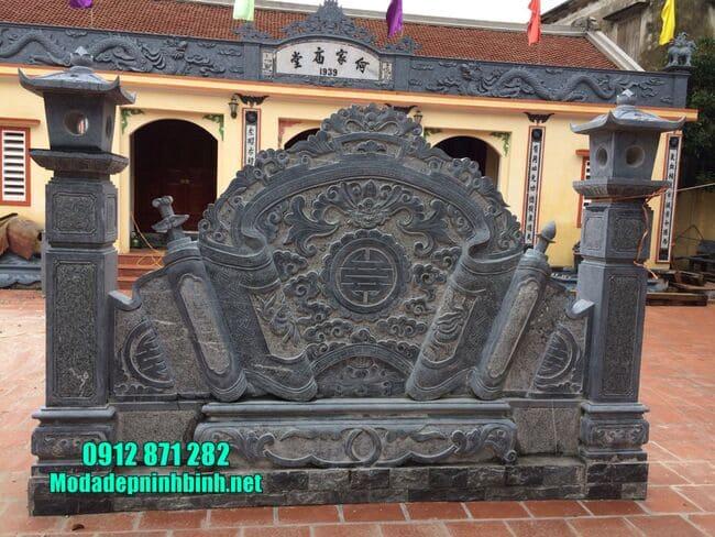 mẫu cuốn thư bằng đá tại Hà Nội đẹp
