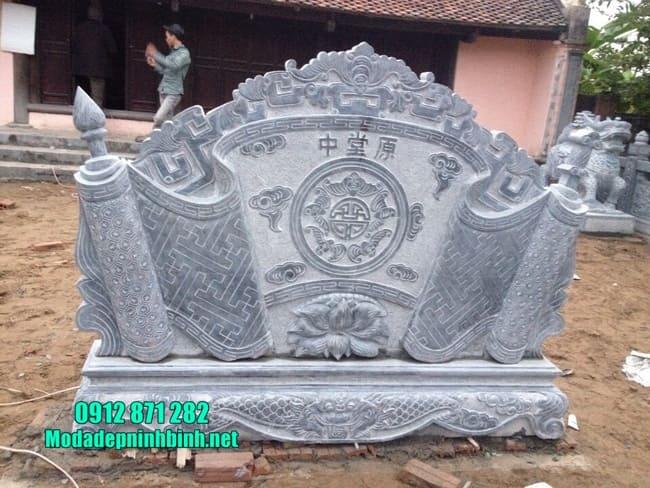 mẫu cuốn thư đá tại Hà Nội đẹp