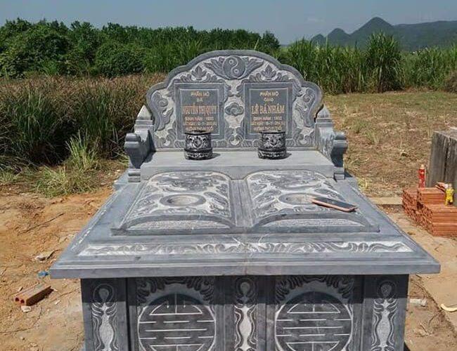 mẫu mộ đôi bằng đá đẹp nhất tại hà nội