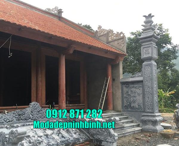 cột đồng trụ đá tại Hà Nội đẹp nhất
