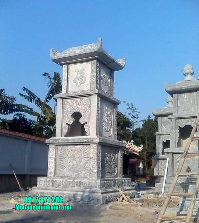 mộ tháp đá tại Đồng Tháp