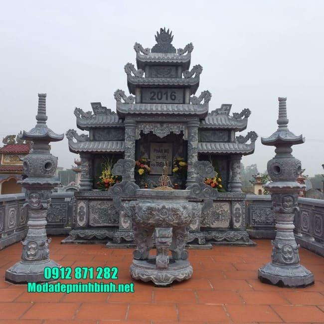 khu lăng mộ đá đẹp tại Bình Định