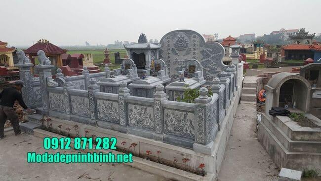 khu lăng mộ tại Bình Phước