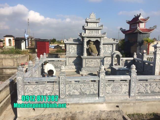 lăng mộ bằng đá đẹp nhất tại Bình Phước