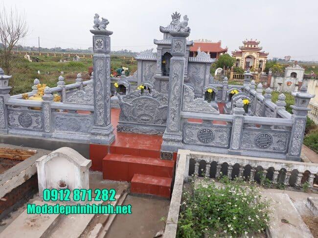 lăng mộ bằng đá đẹp tại Bình Phước