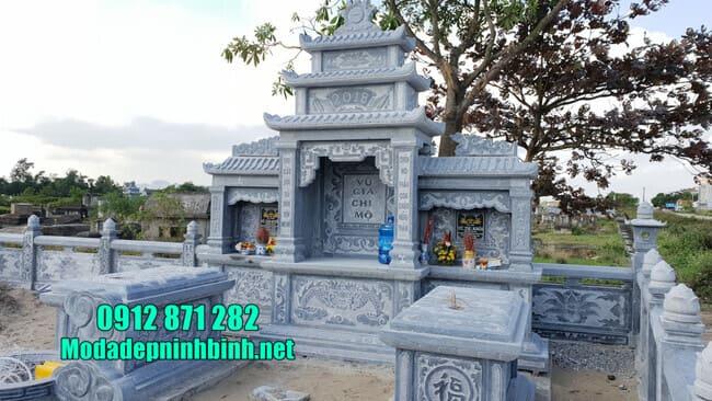 lăng mộ đá đẹp tại Bình Phước