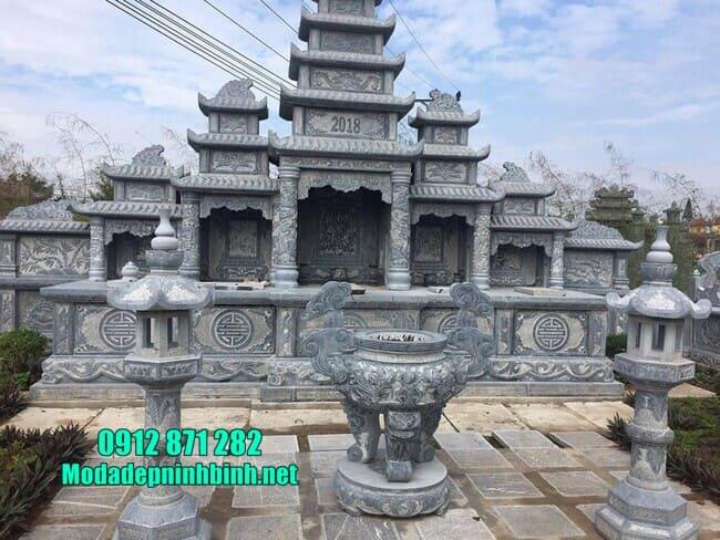 mẫu khu lăng mộ đá tại Bình Định đẹp