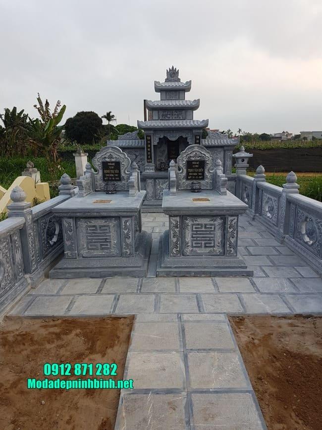 mẫu khu lăng mộ đá tại Bình Phước