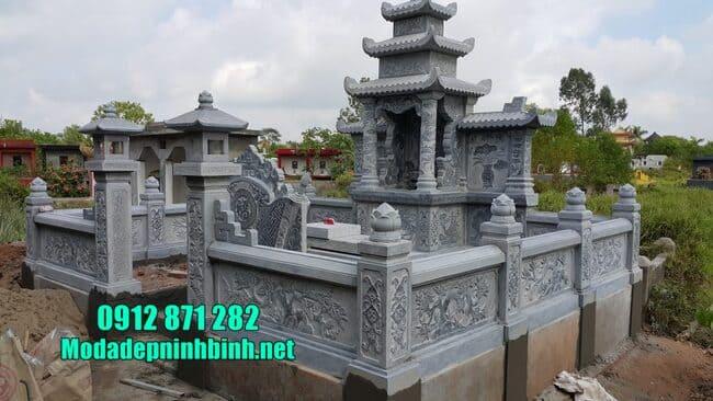 mẫu lăng mộ đá đẹp tại Bình Phước