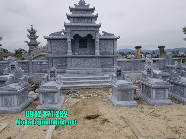 mẫu lăng mộ đá tại Bình Định