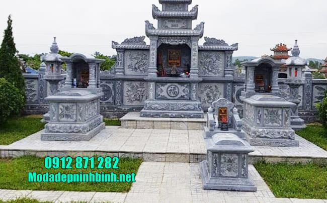 mẫu lăng mộ đá tại Bình Phước