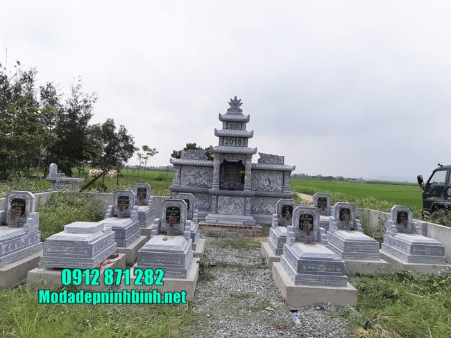 mẫu lăng mộ tại Bình Phước