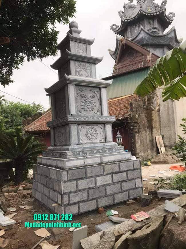 mẫu mộ đá hình tháp tại Vĩnh Long đẹp nhất