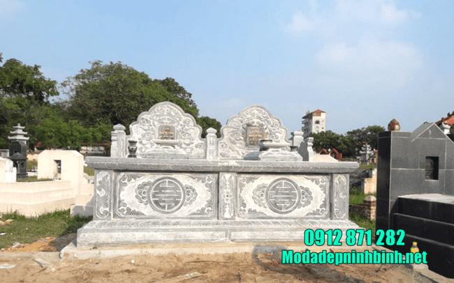 mộ đá đôi đẹp tại Bình Thuận