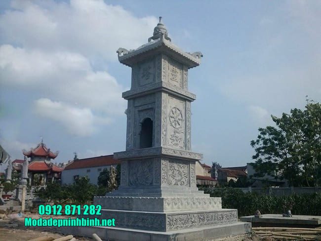 mộ tháp phật giáo tại Đồng Nai đẹp nhất