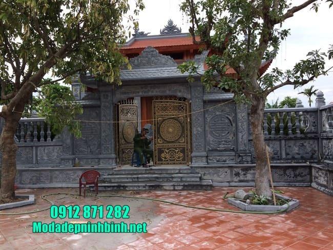 cổng đá đẹp tại Hưng Yên