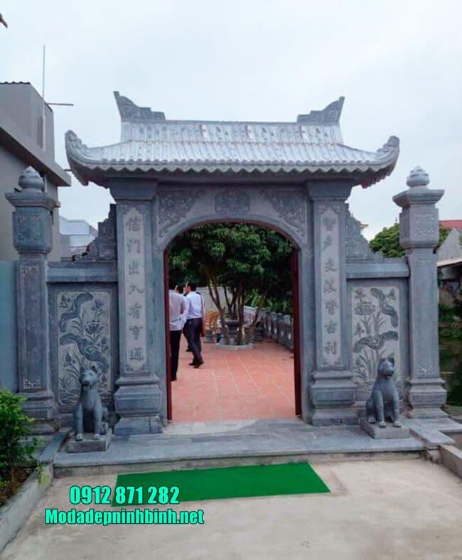 cổng tam quan đẹp tại Hải Phòng