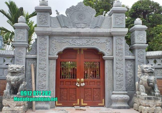 mẫu cổng nhà thờ họ đẹp nhất tại Hải Dương