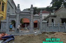 mẫu cổng nhà thờ họ tại Hải Dương đẹp