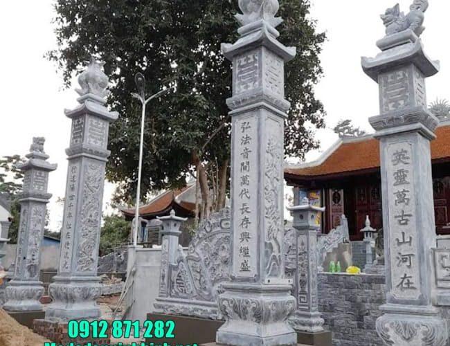 mẫu cổng tam quan bằng đá tại Hải Phòng