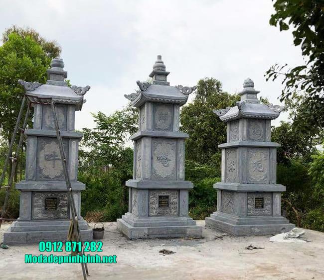 mộ đá hình tháp tại Bình Phước đẹp nhất