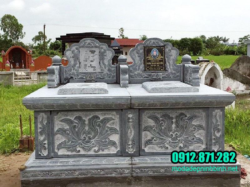 Mẫu mộ đôi song thân